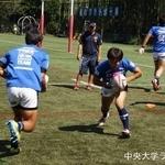 関東大学ラグビージュニア選手権 筑波大学戦 4年 加藤友彬