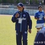 関東大学ラグビーリーグ戦 法政大学戦 酒井ヘッドコーチ