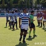 関東大学ラグビーリーグ戦 法政大学戦 高田優成