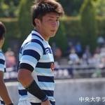 関東大学ラグビーリーグ戦 法政大学戦 小野雄貴