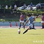 関東大学ラグビーリーグ戦 法政大学戦 浜岸峻輝