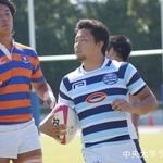関東大学ラグビーリーグ戦 法政大学戦 髙悠也