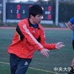 練習試合 明治学院大学戦 鈴木健士郎