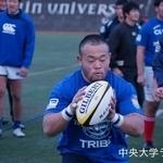 練習試合 明治学院大学戦 新井亮介