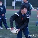練習試合 明治学院大学戦 内野翔太