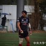 練習試合 東洋大学戦 松井完至