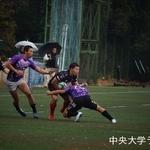 練習試合 東洋大学戦 松岡純平