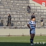 大学選手権 流通経済大学戦 浜岸峻輝