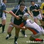 対法政大学② 滋田長喜