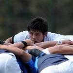 ジュニア戦 日本体育大学戦⑧ 上野晃平