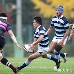 リーグ戦 対日本大学戦⑤ 松尾怜朗
