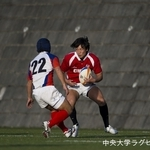 練習試合 法政大学戦⑩ 長野大輔