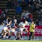 全国大学ラグビーフットボール選手権大会 対明治大学戦① 藤井諒