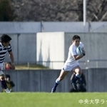 全国大学ラグビーフットボール選手権大会 対明治大学戦④ 松尾怜朗