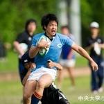 オープン戦 筑波大学戦 鈴木健士朗